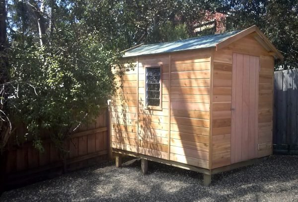 cedar storage by shed quarters